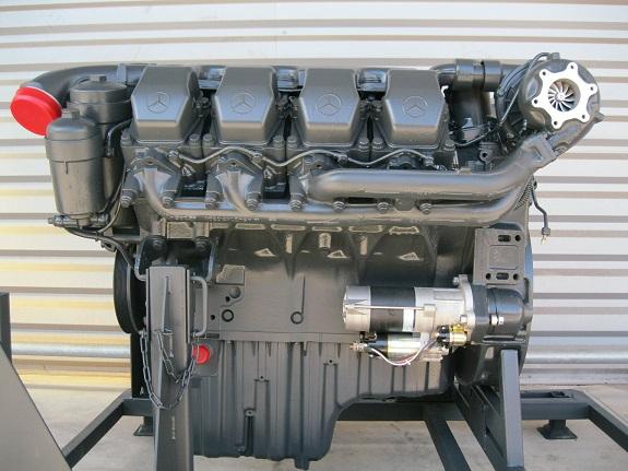 Austausch Und Reparatur Von Motoren F U00fcr Mercedes Lastwagen